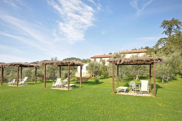 Tuscan Fitness La forra poolside